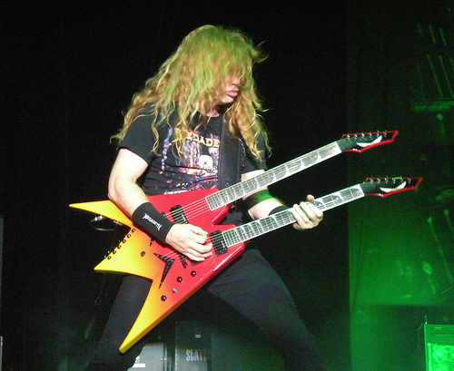 what gear does dave mustaine use