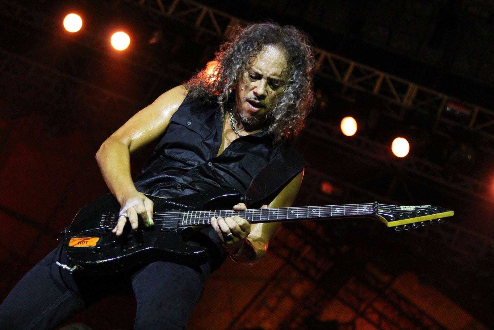 Kirk Hammett Guitar Setup And Rig Rundown