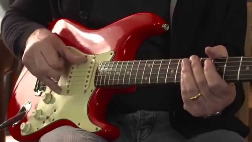 61 red strat sultans of swing