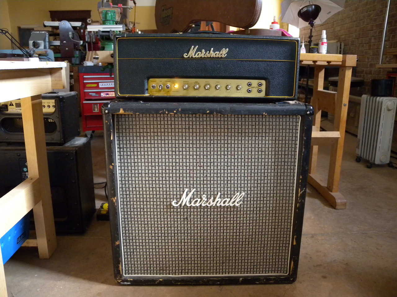 Jimmy Page's Favorite Amp - We Review The Marshall 1959 SLP Super Lead