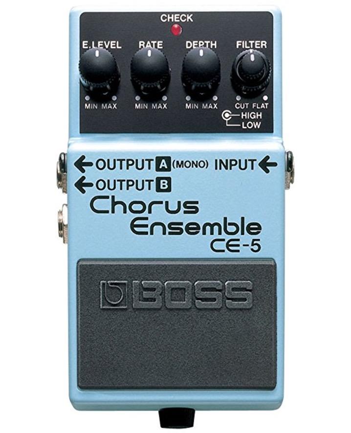 Boss CE-5 Stereo Chorus Ensemble review