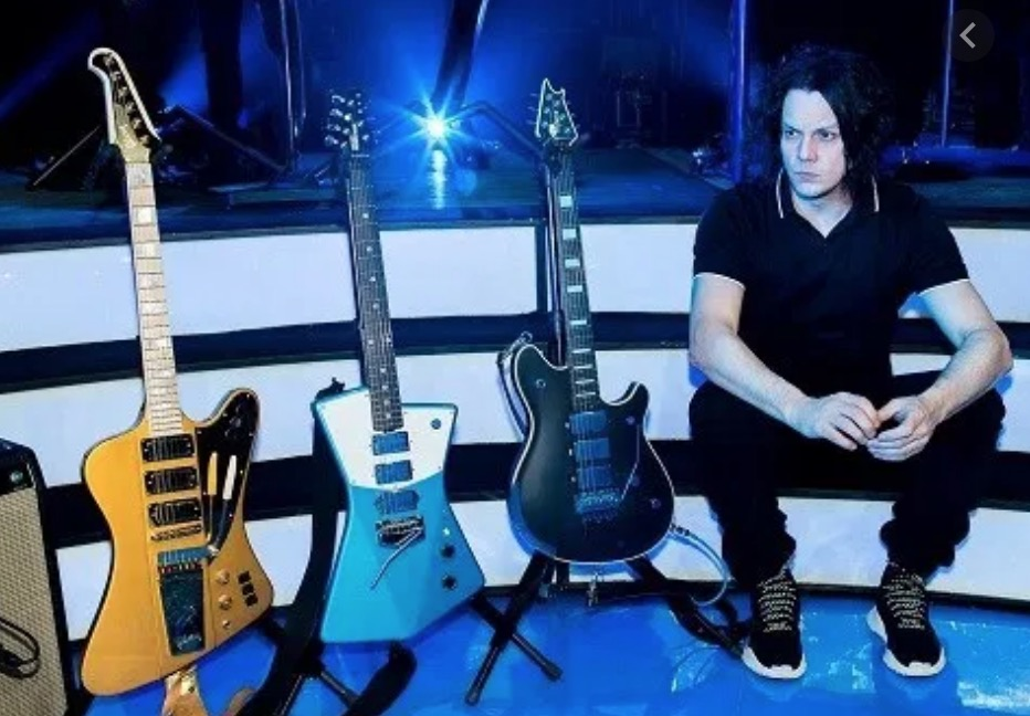 jack white guitar collection
