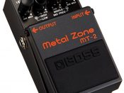 Boss MT-2 Metal Zone Distortion Guitar Pedal review