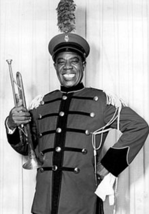 louis armstrong jazz band uniform