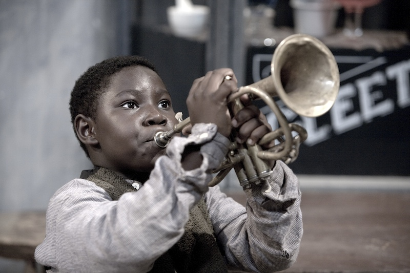 young louis armstrong as a child