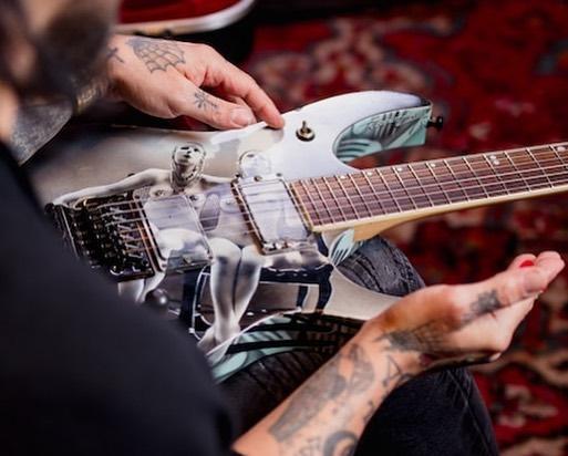 dave navarro ibanez guitar reuinion