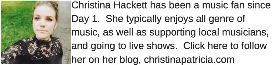 christina hacket guest music blogger