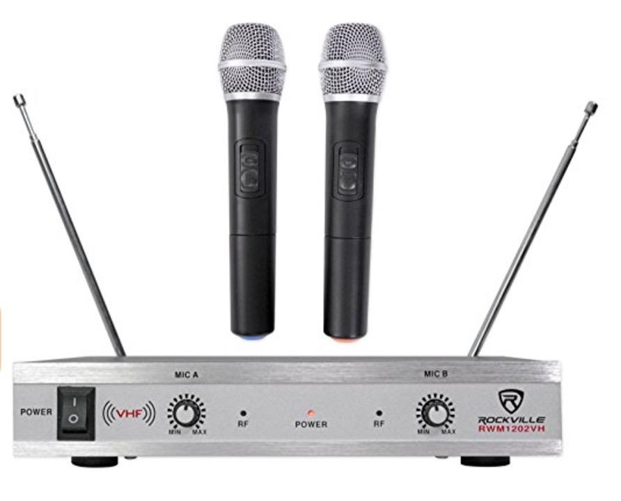 rockville karaoke mics