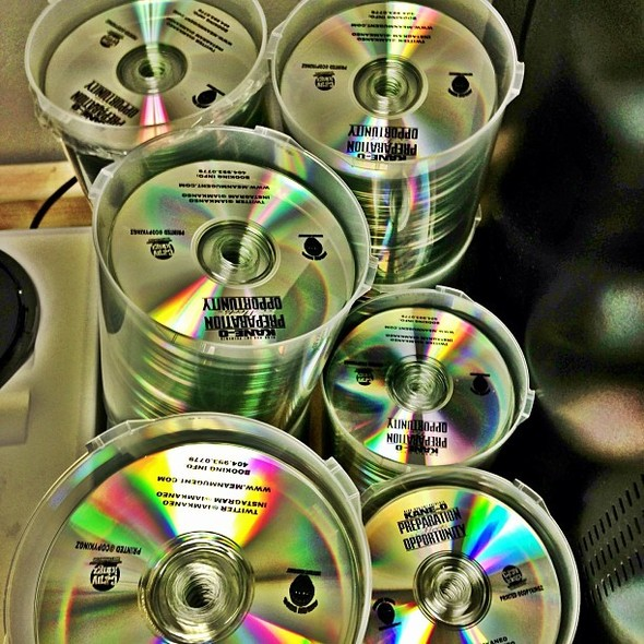 cds printed and manufactured