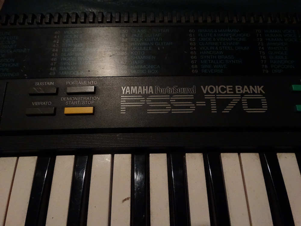voice bank pss 170 up close