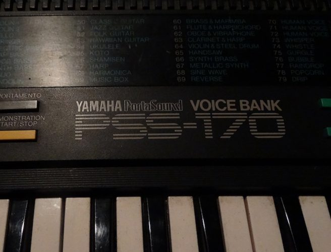 Yamaha PortaSound Voicebank PSS-170 Portable Toy Mini Keyboard Review