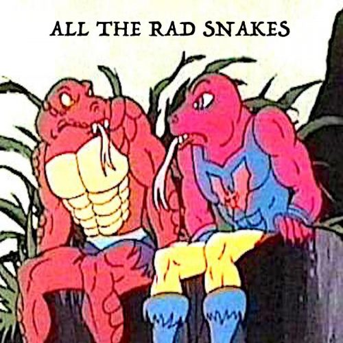 all the rad snakes
