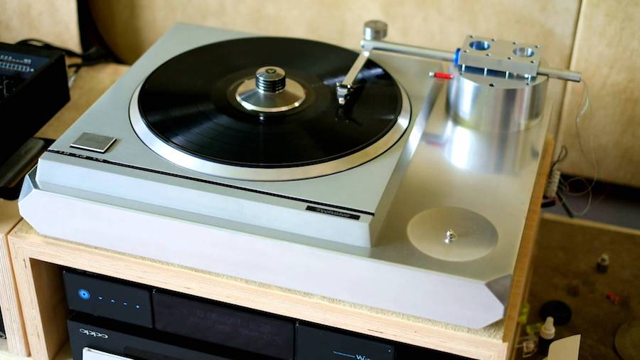 tangential linear tracking tonearm