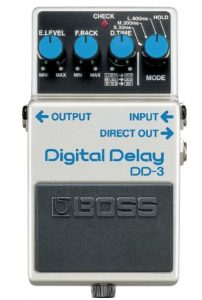Boss DD-3 Digital Delay Guitar Pedal Review