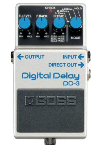 What Delay Does Tom Morello Use? - Boss DD-3 Digital Delay Guitar Pedal Review