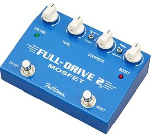 Fulltone Fulldrive2 MOSFET Overdrive Boost review