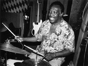 Clyde Stubblefield drumming