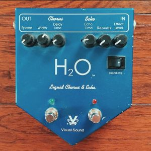 visual sound h20 V1 liquid chorus and echo pedal review