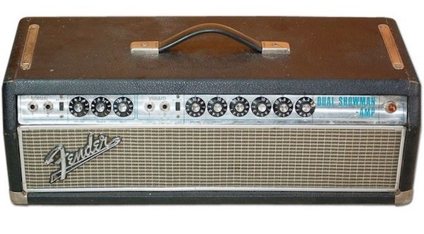 fender dual showman guitar amp