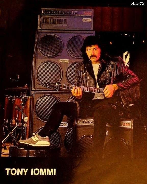 iommi sunn amp Ironbird guitar